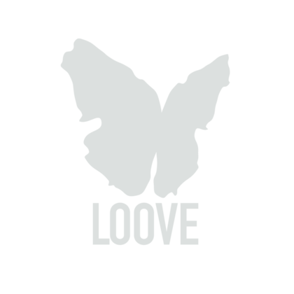 Small loove logo inverted